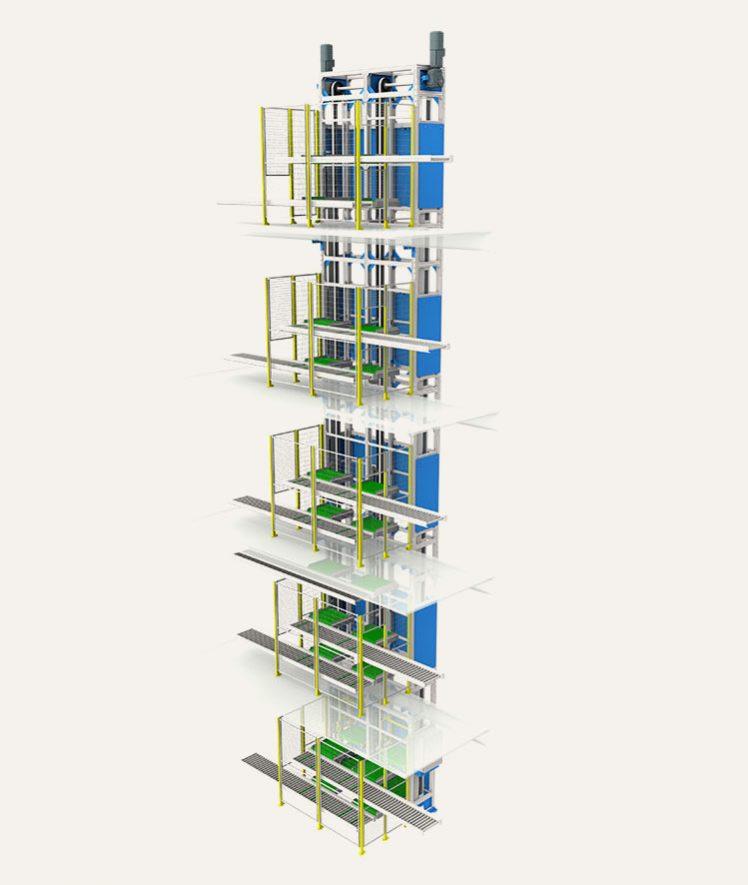 Multi Platform Reciprocating Lift