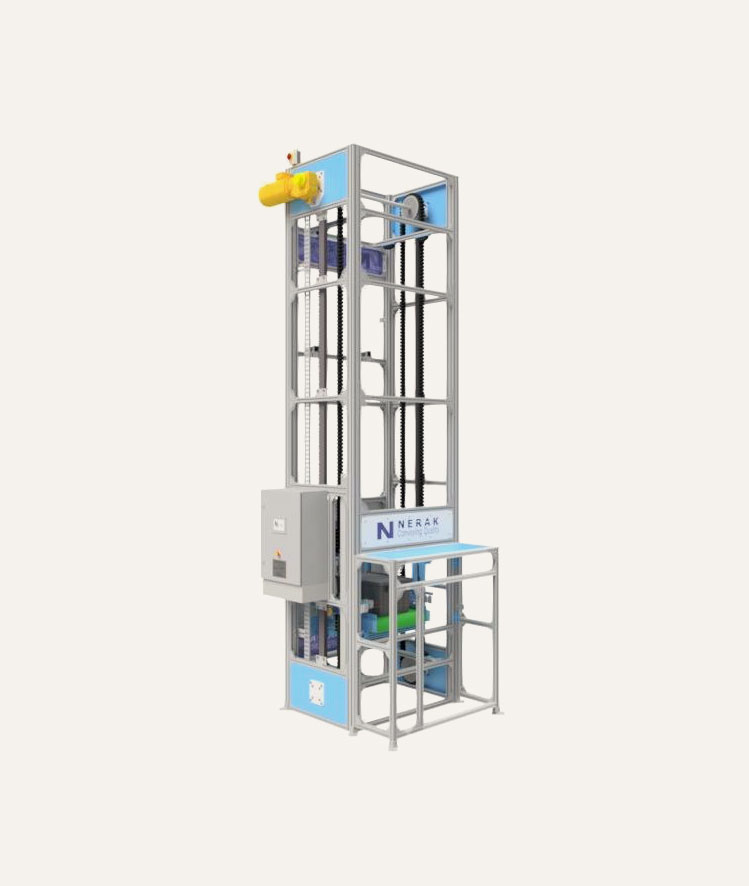 3D model of Single-Platform Reciprocating Lift