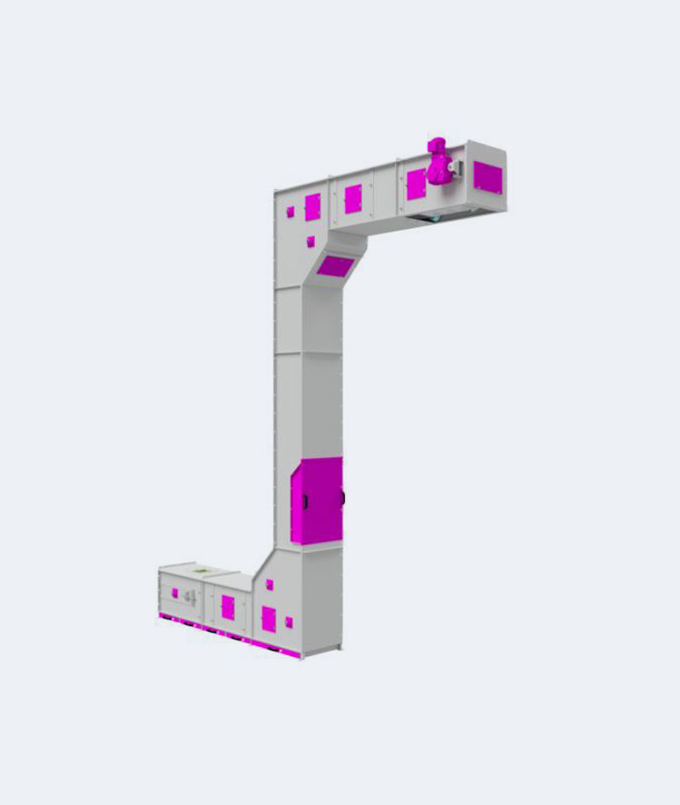 3D model of Wiese Continuous Elevator
