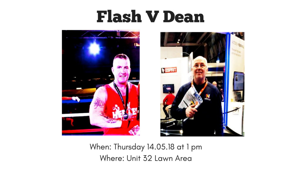 Flash Vs. Dean | Nerak Fundraiser